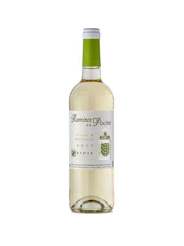 Vino blanco rioja ram rez de la piscina 2015 for Piscinas ramirez